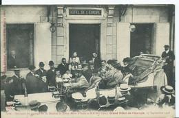 BOURG - Souvenir Du Passage De La Reine Mére D'ITALIE -GRAND HOTEL DE L EUROPE - Other