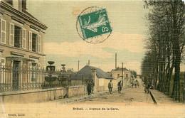 BREVAL Avenue De La Gare - Toilée Couleur - Otros Municipios