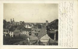 Belgium, DIKSMUIDE DIXMUDE, De Rooden Hert, WWI War Damage (1915) RPPC Postcard - Diksmuide