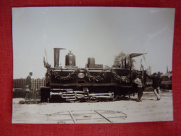 Photo - Train - Locomotive - Petit Format - Treni