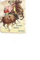 DECOUPIS         6 DECOUPIS    // CORRIDA  SCENES  // CHOCOLATE AMATLLER   BARCELONA  Sur Fragment Papier 8 X 5.5 CMS - Andere