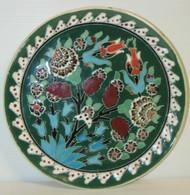 ASSIETTE MURALE DECORATIVE Céramique émaillée Marquée KUTAHYA/TURQIYE Souvenir Collection Déco - Altri