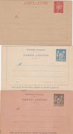 France 3 Carte Lettres 1890-1900 - Altri