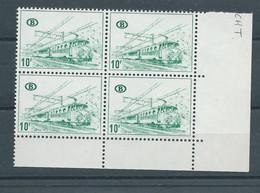 TR 387 B2 ** EN BLOC DE 4 - 1952-....