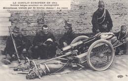 France Carte Postale Soldats Belges Souriant - Guerre 1914-18