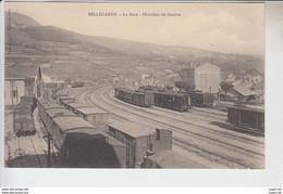 RT29.389  AIN. BELLEGARDE. LA GARE .DIRECTION DE GENEVE.Phot.AB&C NANCY DANS CERCLE - Bellegarde-sur-Valserine