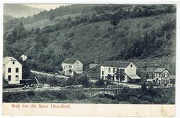 Gruss Von Der Sauer ( Grundhof ) - Luxembourg - Echternach