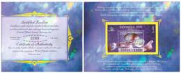 Indonesia 1998 Carnet Gemstone Opal S/S - Indonesia