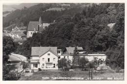 8603) 2642 EDLITZ - Kath. Familienerholungsheim ST. JOSEF U. KIRCHE Im Hintergrund - Außerdem STRAßE U. AUTO DETAILS Alt - Autres