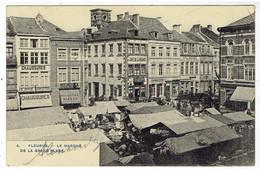 FLEURUS - Le Marché De La Grand'Place - Fleurus