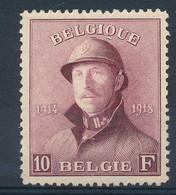 """BELGIUM """"CASQUE"""" COB 178 LH - 1919-1920 Trench Helmet"""