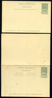 Belgique Cartes Postales #23-24 Neuf 1893-94 - Postcards [1871-09]