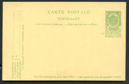 Belgique Carte Postale #37 Neuf 1908 - Postcards [1871-09]