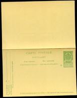Belgique Carte Postale Avec Réponse #38 Neuf 1908 - Postcards [1871-09]