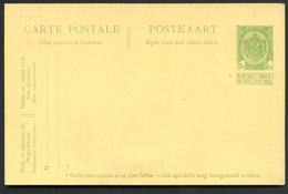 Belgique Carte Postale #42 Neuf 1909 - Postcards [1909-34]