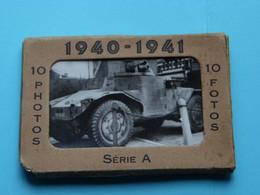 1940 - 1941 > Carnet 10 Pcs. ( SERIE A ) Edit. ROYAL ALBERT Photos OSTENDE Format +/- 6 X 9,5 Cm. ( Zie / Voir SCANS ) ! - 1939-45