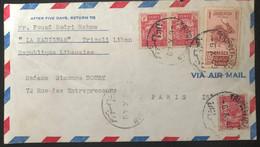 Liban 1949 De Tripoli Vers Paris (1012) - Liban