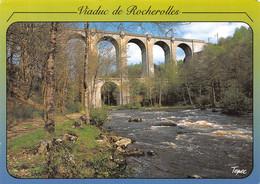 87-FOLLES LE VIADUC DE ROCHEROLLES-N°C-4310-C/0195 - Andere Gemeenten