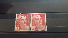 LOT554966 TIMBRE DE FRANCE NEUF** LUXE VARIETE EPAULETTE - Collections