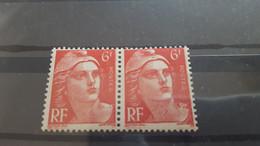 LOT554972 TIMBRE DE FRANCE NEUF** LUXE VARIETE EPAULETTE - Collections