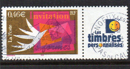 Yv. N° 3479A  Invitation  Oblitéré - Gebruikt