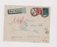 FRANCE PARIS 1931 Nice Airmail Cover To Austria - Brieven En Documenten