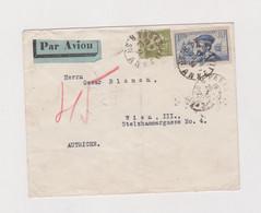 FRANCE PARIS 1934 Nice Airmail Cover To Austria - Brieven En Documenten