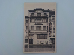 1957 CP Heist Hôtel Centre De Vacances Des Mutualités Libérales De Belgique 224 Zeedijk - Heist