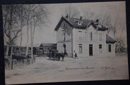 03 : Dompierre-sur-Besbre - La Gare - Animée : Petite Animation - Attelage - (n°21124) - Other Municipalities