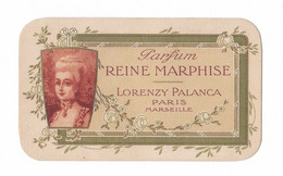 Carte Parfumée Parfum Reine Marphise, Lorenzy Palanca, Paris - Marseille - Oud (tot 1960)