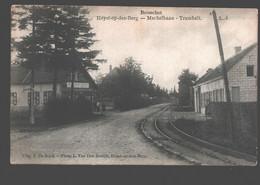 Booischot / Boisschot / Heyst-op-den-Berg - Mechelbaan - Tramhalt - Uitg. F. De Rijck / L. Van Den Broeck - Heist-op-den-Berg