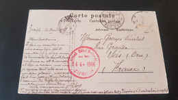 Zurich - Stempel Grand Hotel Bellevue Zurich 1906 - Non Classificati