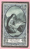 Bidprentje - Z.E.Heer Henricus VAN DEUN - Turnhout 1841 - Casterlé 1907 - Onderpastoor Lichtaart - Pastoor Kasterlee - Imágenes Religiosas