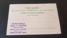 Grindelwald Baregg - Stempel Chalet Baregg - Non Classificati