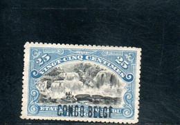 CONGO BELGE 1908 SANS GOMME - 1894-1923 Mols: Nuevos