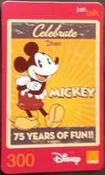 Mobilecard Thailand - Orange - Disney - Mickey - Thaïlande