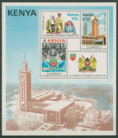 Kenia 1983 Commonwealth-Konferenz In Nairobi Block 20 Postfrisch (C29291) - Kenya (1963-...)