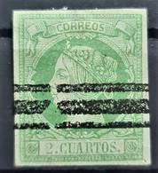 SPAIN 1860/61 - Canceled - Sc# 49 - Gebraucht