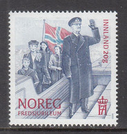 2020 Norway End Of WWII Flags Military History Royalty  Complete Set Of 1 MNH @ BELOW FACE VALUE - Ungebraucht