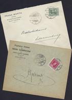 Luxembourg - Luxemburg - Lettres  1924 - 1916 - 1921-27 Charlotte Voorzijde