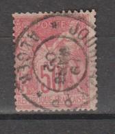 Sage Type LI N Sous B  50c Rose N°104 - 1876-1878 Sage (Tipo I)