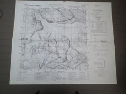 BREITHORN - FEUILLE 29 I NO- DELLA CARTA D' ITALIA -  ECHELLE 1/25.000e - REVISION 1934 - MASSIF DES ALPES VALAISIENNES - Mapas Geográficas