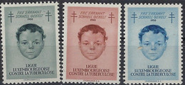Luxembourg - Luxemburg - Timbre 1950  3 Timbres De Charité , Lutte Contre La Tuberculose  MH* - Gebraucht