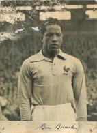 190821 - SPORT FOOTBALL - PHOTO LARBI BENBAREK Joueur Franco Marocain équipe De France - Fussball
