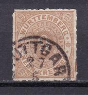 Wuerttemberg - 1869 - Michel Nr. 40 - Gestempelt - 50 Euro - Wurtemberg