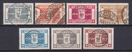 Wuerttemberg - Dienstmarken - 1916 - Michel Nr. 123/129 - Gestempelt - Wurttemberg