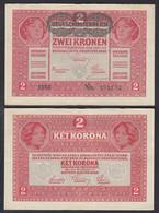 Österreich - Austria 2 Kronen 1917 (1919) Pick 50 VF (3)   (28380 - Austria