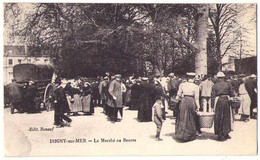 598, (Calvados) Isigny Sur Mer, Renouf, Le Marché Au Beurre - Otros Municipios