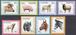 ALBANIA - 1966- Serie Completa Nuova MNH: Yvert 852/859, 8 Valori. - Albanie
