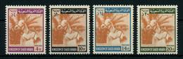 Saudi Arabia 1969-71 Horsemanship Complete Set MNH ** Full Orig. Gum, Perfect, Yv. 319, 368-369, Cat. €132.5, SCARCE - Saoedi-Arabië